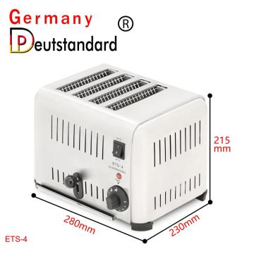 Commercial mini electric conveyor toaster with CE