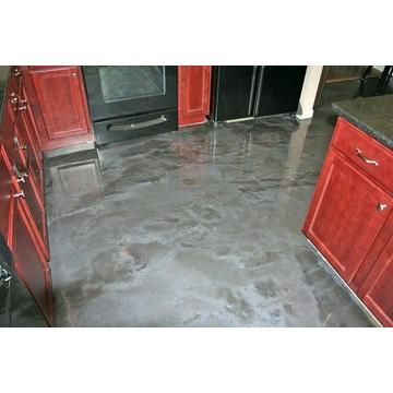Home decoration Metallic Epoxy flooring