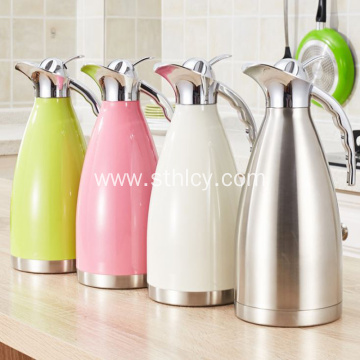Stainless Steel Household Vacuum Insulation Pot Teapot