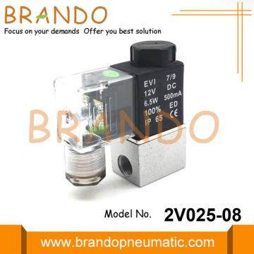 Airtac Type 2V025-08 1/4'' Pneumatic Air Solenoid Valve