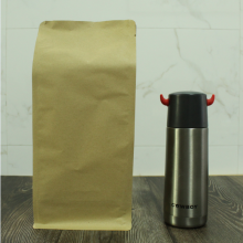 500g flat bottom kraft paper bag without zipper