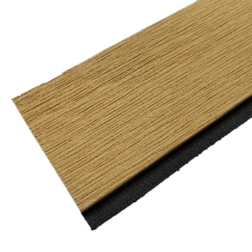 Light Teak & Black Marine EVA Faux Teak Strip