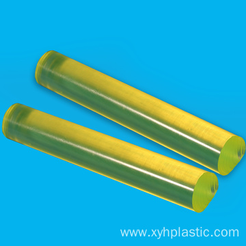 Red Polyurethane PU Round Bar for Sleeves