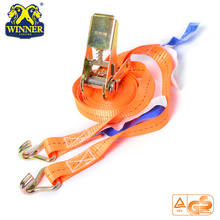 High Quality for Ratchet Tie Down High Strength Polyester Cargo Lashing Ratchet Tie Down Strap export to Tanzania Importers