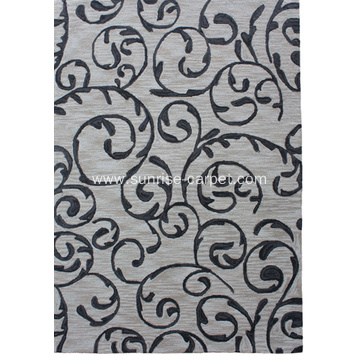 Popular Design Hand Hooked Carpet