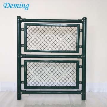 Factory PVC Coated Used Chian Link Fence