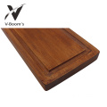 Rectangle Acacia Wood Cutting Board With Handle
