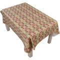 Tablecloth PE with Needle-punched Cotton Brown Classic