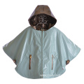 Yellow PU Childrens Rain Poncho