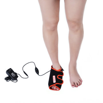 Far infrared electric foot heating therapy pad
