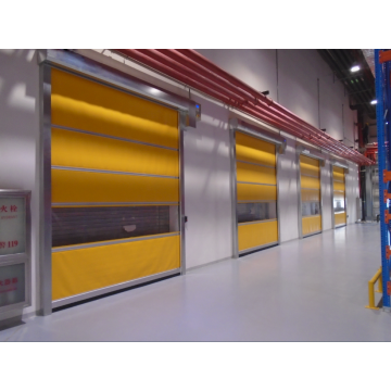PVC ngwa ngwa High Speed ​​Rolling Shutter Door