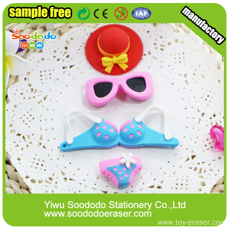 SOODODO 3D Fancy Penguin Shaped Chinese Eraser