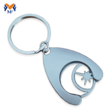 Best-Selling for Coin Holder Keychain Metal custom shopping trolly cart coin keychain supply to Virgin Islands (British) Suppliers