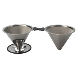Titanium Coated Paperless Pour Over Coffee Dripper