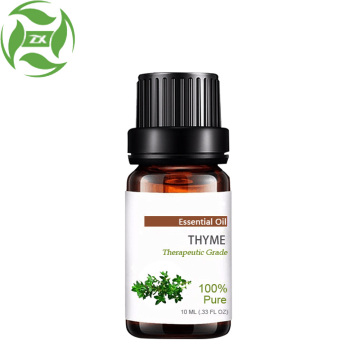 100% pure natural thyme oil for hair care
