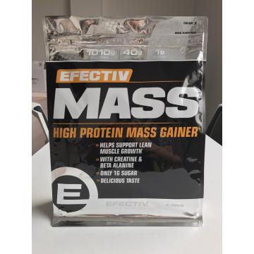 Flat Bottom Pouch for Protein Powder