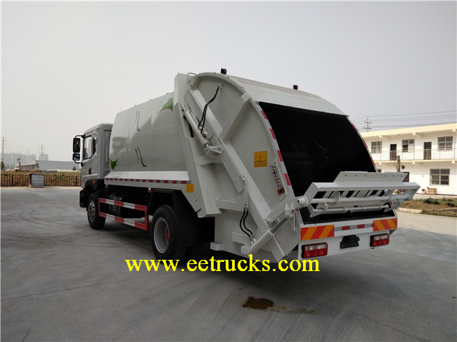 6 CBM Compacted Garbage Trucks