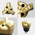 Three wings PDC non core drag drill bit