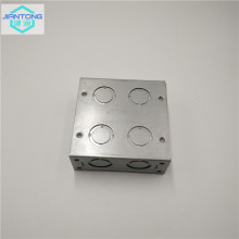 galvanized sheet metal stamped electrical junction box