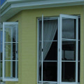 French upvc tilt and turn window