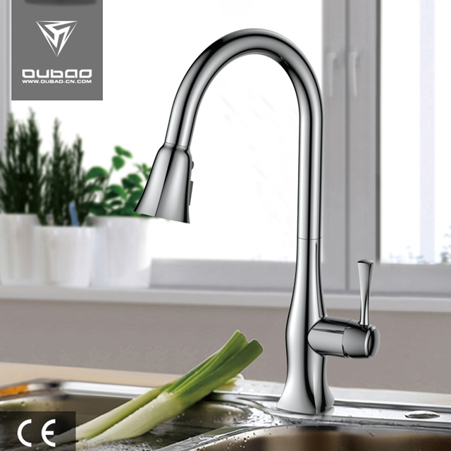 Classic High Arc One-Handle Kitchen Faucet Mixer