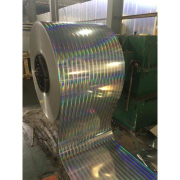 Laminated electrolytic tinplate coil
