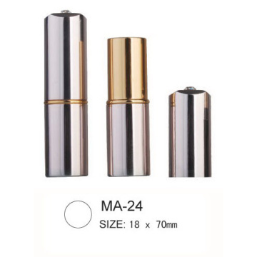 Round Aluminium Cosmetic Lipstick Packaging