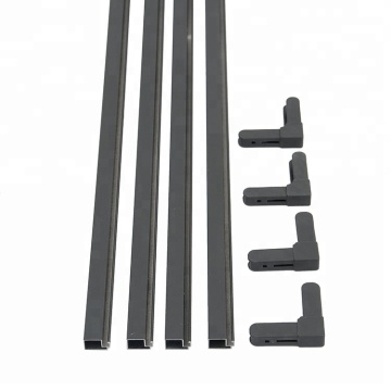 Window frame kit plastic corner connector for aluminium