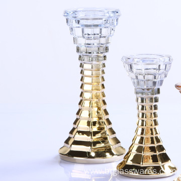 Hot-selling for Large Pillar Holders Unique Glass Candle Holder for Taper and Pillar candle supply to Brazil Manufacturers