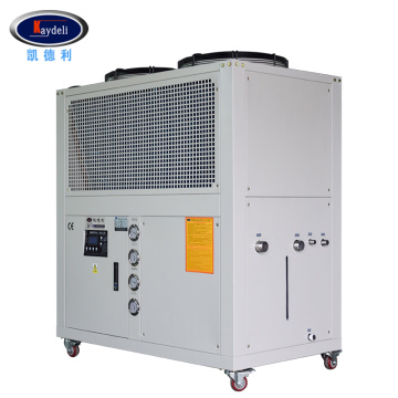 Air cooled low temperature freezer