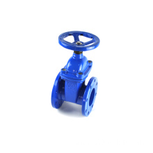 Best selling 6 inch 900 awwa a c509 chain wheel double disc di gate valve