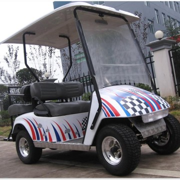 Off road 4 seats gas powered golf cart