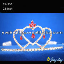 Pink Crystal Wholesale Wedding Pageant Tiaras