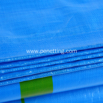 Blue Color PE tarpaulin Sheet 10x10ft