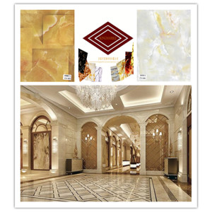 Supply for 3D Marble Wall Panel Environmental Materials Pvc 3D Wall Sheet export to France Supplier