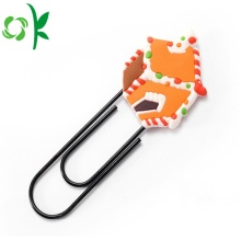 Christmas Decoration Lovely Silicone Bookmark for Sale