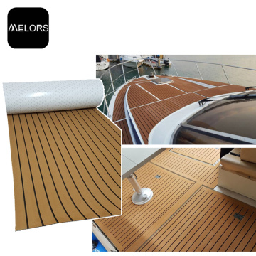 EVA Faux Teak Sheet Marine Deck Flooring