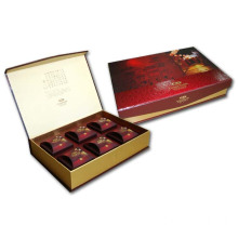 Red Gift Tea Packaging Boxes Wholesale