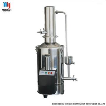 Distilled water equipment for laboratory use
