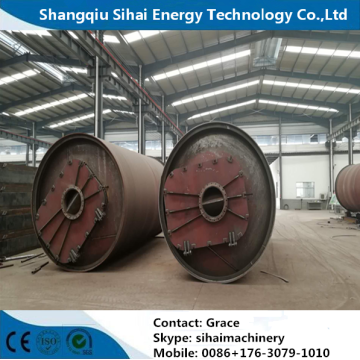 waste tire processing to fuel oil machine