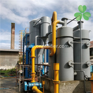 Wood Gasifier Power Genaration System with Long Lifetime