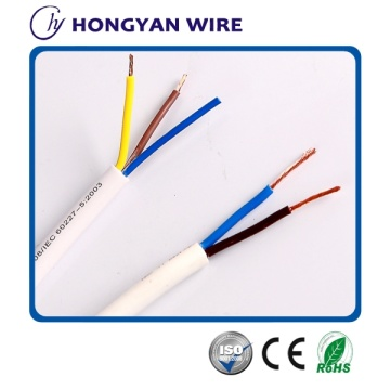 professional british standard 300/500V PVC Insulated Flexible Cable H05VV-F wire