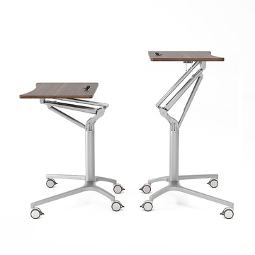Height adjustable Overbed Nurse Tables