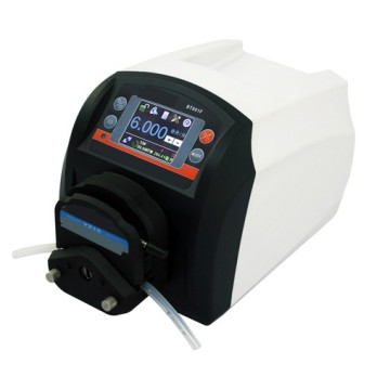 Low cost plastic shell transfer peristaltic pump