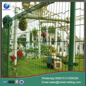 roll top fence double loop fencing