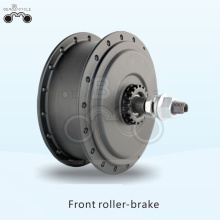 36V 250W roller brake electric front bike motor