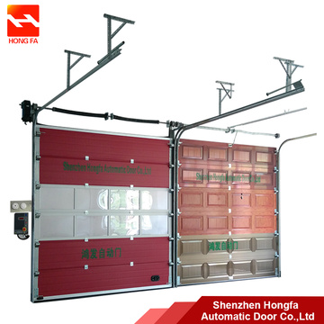 High Performance for Industrial Sectional Door,Industrial Overhead Sectional Door,Industrial Warehouse Sectional Door Manufacturers and Suppliers in China Warehouse PU Industrial Garage Interior Sectional Door supply to India Importers