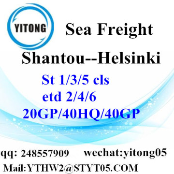 Shantou Customer Service to Helsinki