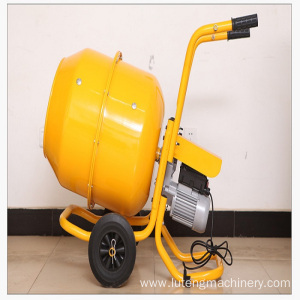 160/180/200L mini electric cast iron concrete mixer