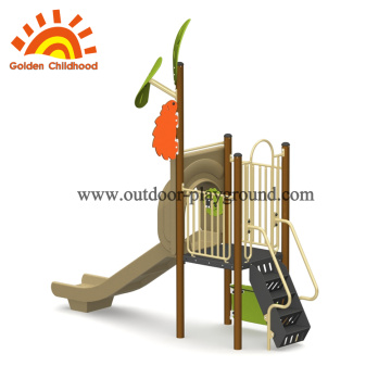 Simple Maple Leaves Style Outdoor Playground Equipment
